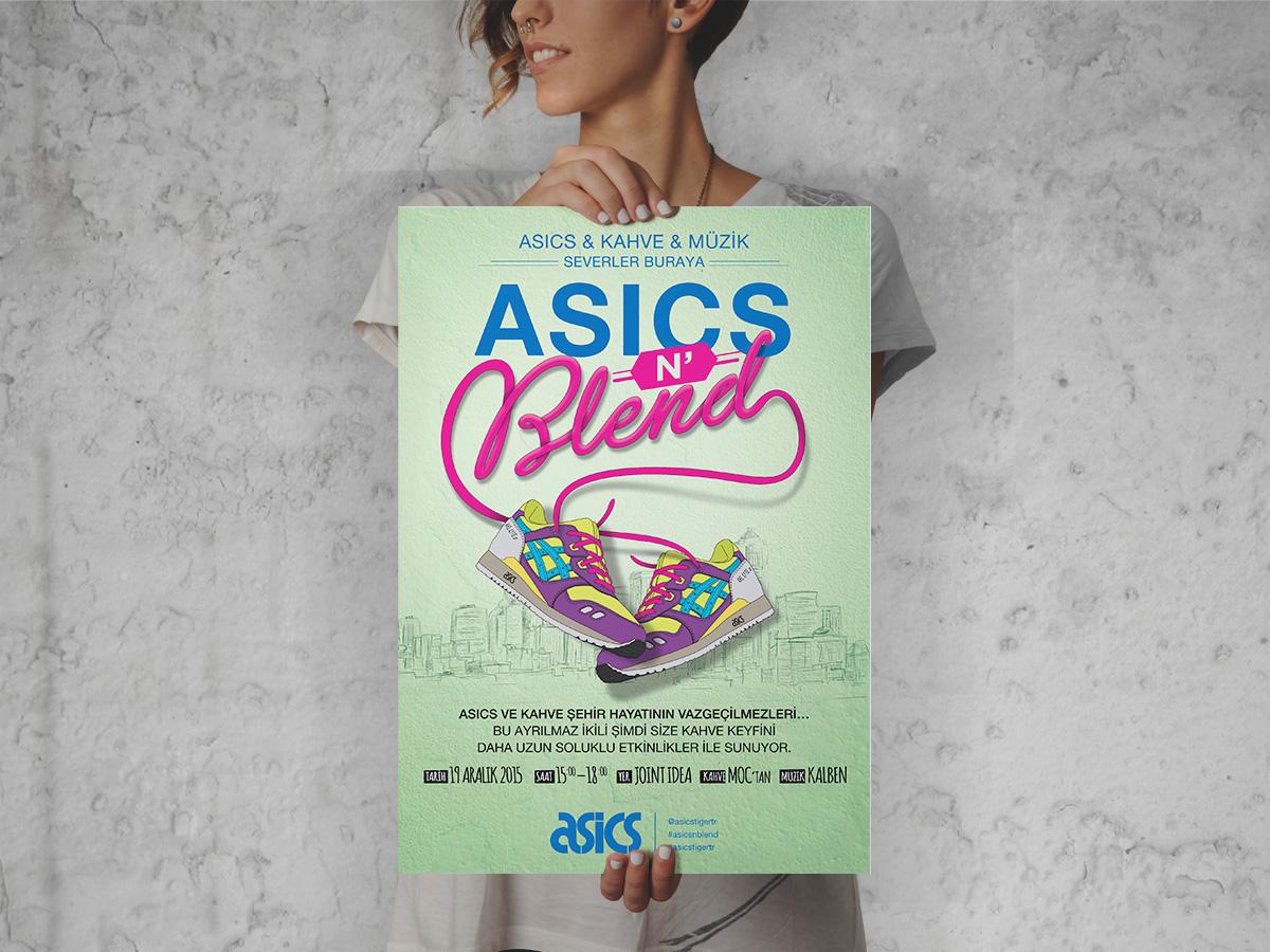 Asics n'Blend Poster