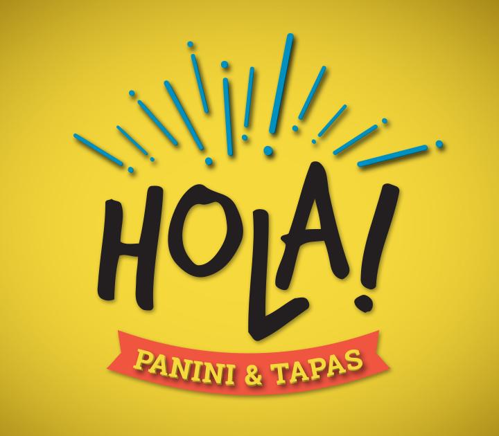 Hola Panini & Tapas Logo