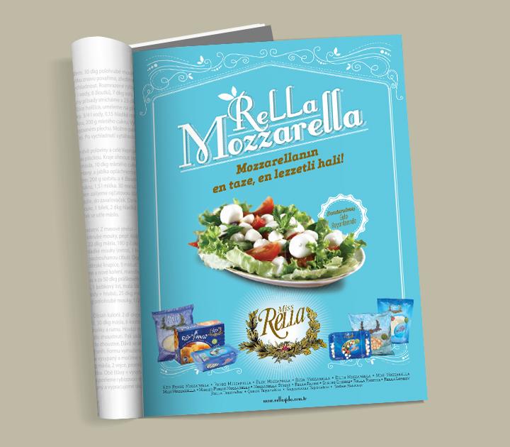 Rella Gıda Dergi İlanı