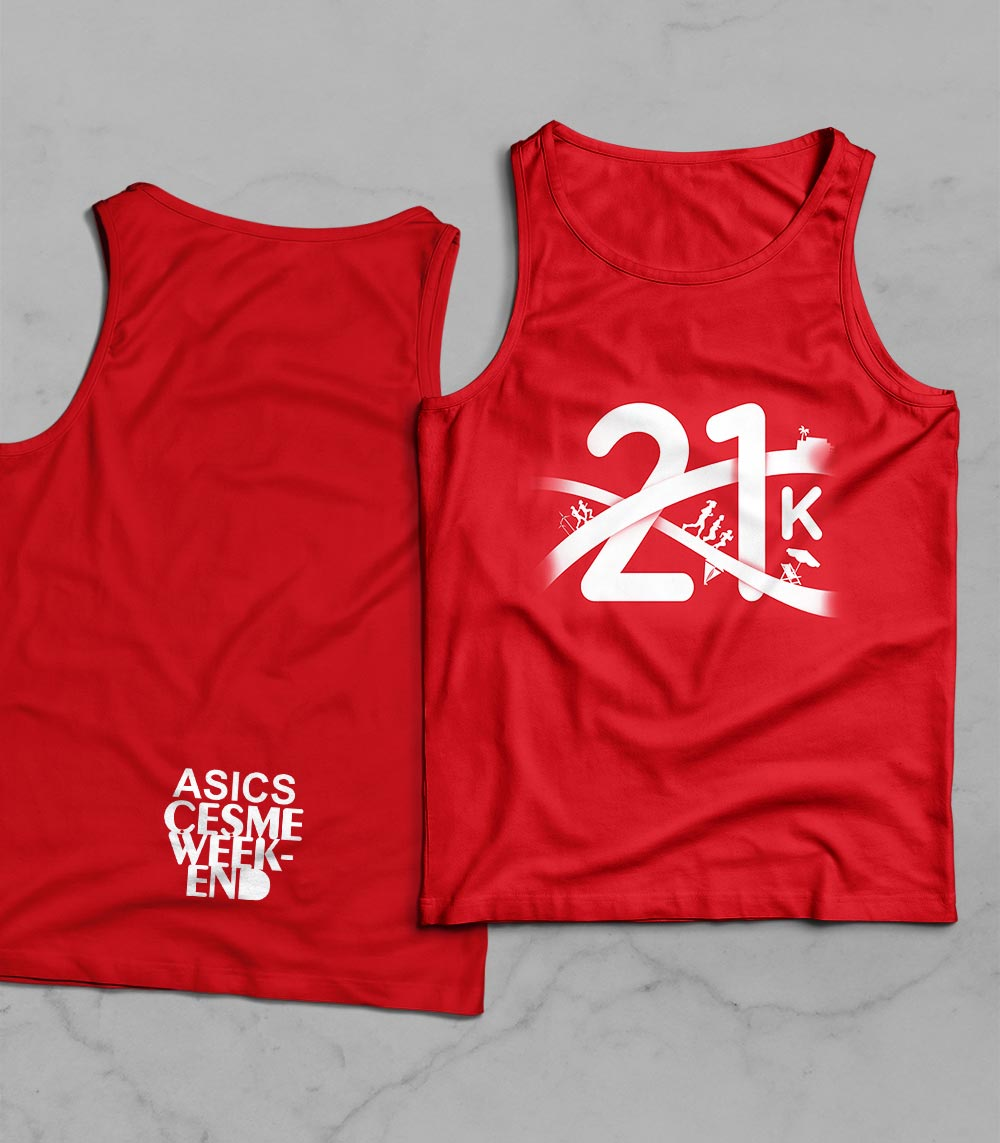 ASICS Çeşme Weekend 21k T-shirt