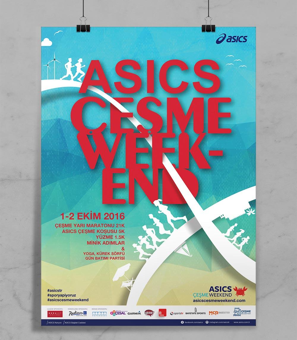 ASICS Çeşme Poster