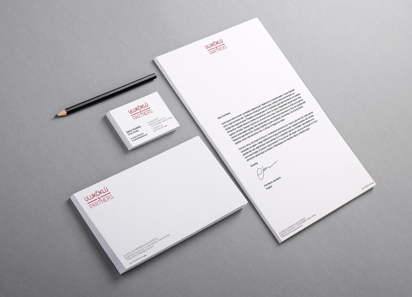 Uluköklü & Partners Stationary